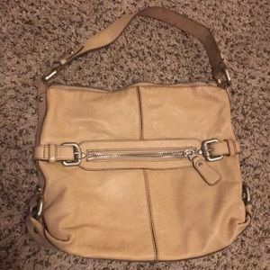 Fossil leather purse